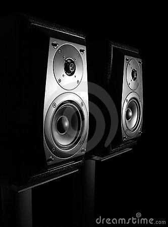 Free Speakers. Royalty Free Stock Photography - 13365187