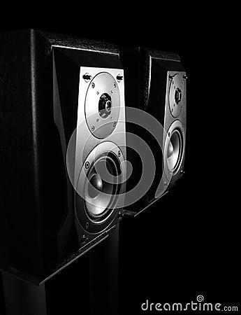 Free Speakers. Stock Image - 13424241