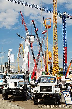 Special automotive equipment GAZ Editorial Photography