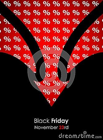 Special black friday banner