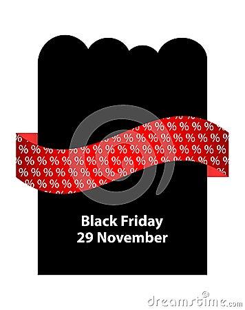 Special black friday flyer