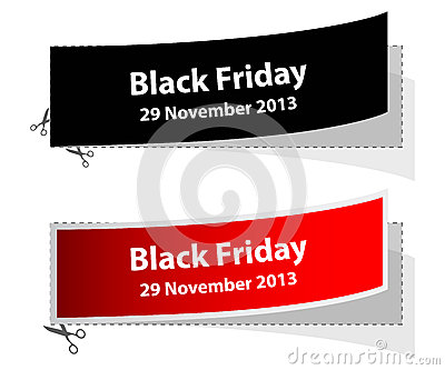 Special black friday labels