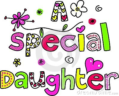A special daughter