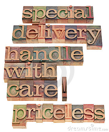 Special delivery handle with care