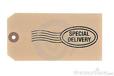 Special Delivery tag.