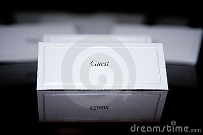 Special Event: Name Card