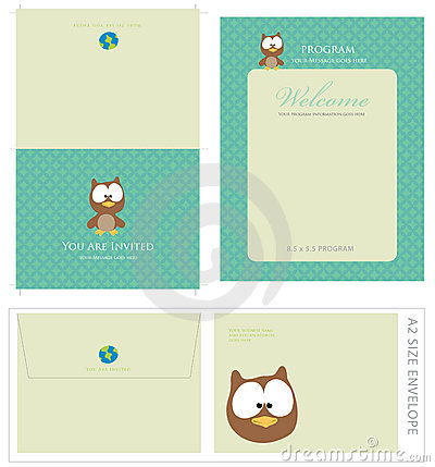 Free Special Event Templates And Envelope Royalty Free Stock Photos - 9083178