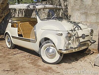 vintage fiat 500 spider cabrio special