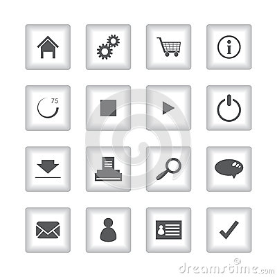Special flat ui icons