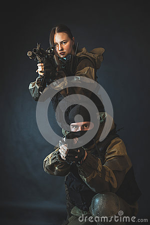 Special force Stock Photo
