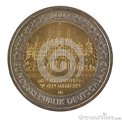 Special german euro coin