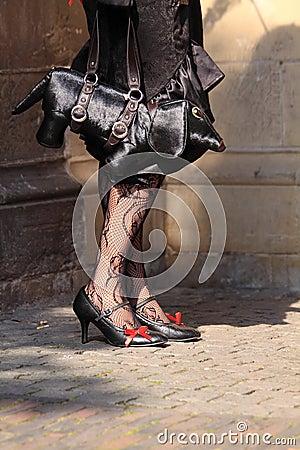 Special handbag extravagant