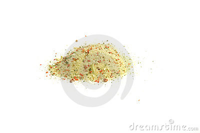 Special mixture of spices for soups