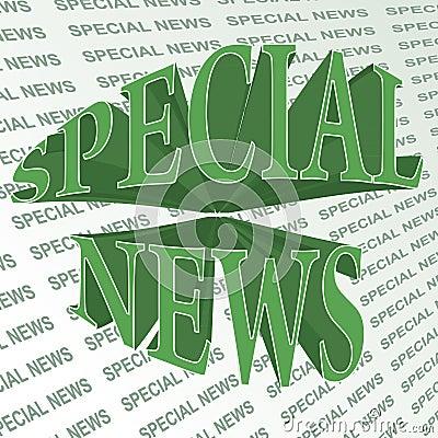 Special news