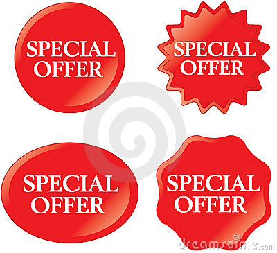 Free SPECIAL OFFER Stock Images - 17532144