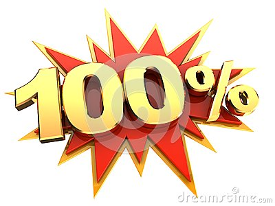 Special offer hundred percent