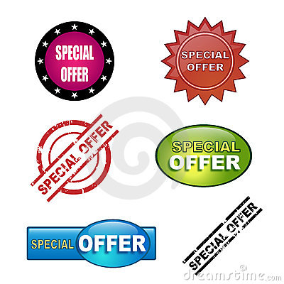 Special offer icons