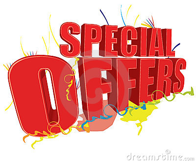 Special offers 3D