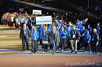 Special Olympics European Summer Games Editorial Stock Image