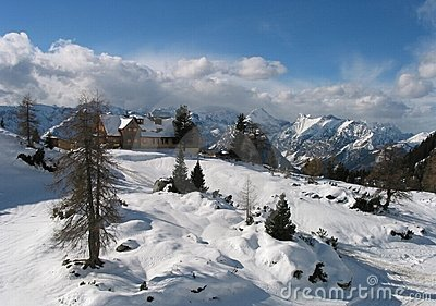 Special panorama from tirol, austria