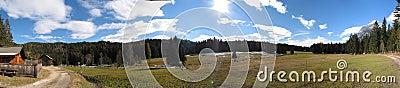 Special panorama from tirol, austria