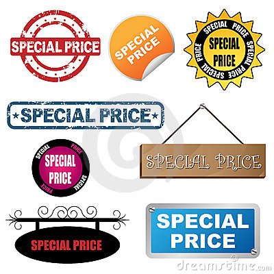 Special price icons