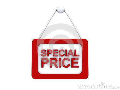 Special price sign