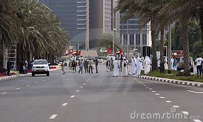 Special Task Force Officer, Dubai Editorial Photography