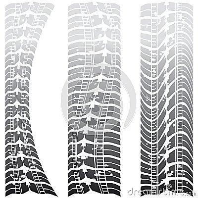 Special tire tracks