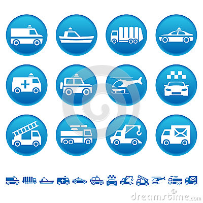 Special transportation icons