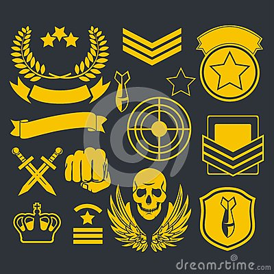 Free Special Unit Military Patch Stock Image - 48977881