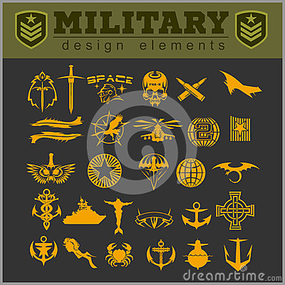 Free Special Unit Military Patch Stock Photography - 70179632