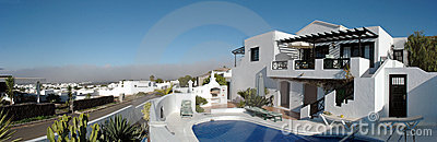 Specific Lanzarote houses
