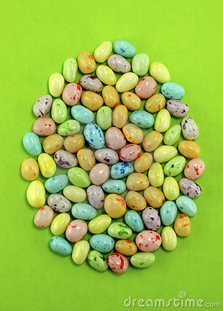 Free Speckled Candy Easter Eggs Royalty Free Stock Photo - 8779155