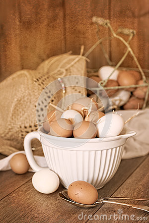 Free Speckled Eggs Stock Photo - 32813700