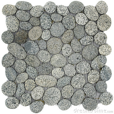 Free Speckled White Grey And Black Stone Mosaic Stock Photography - 22501932