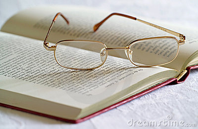 Spectacles and Book
