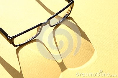 Spectacles With Shadow