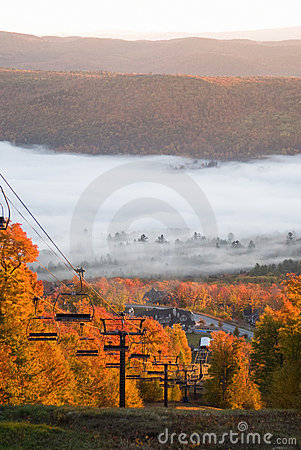 Spectacular fall scenery