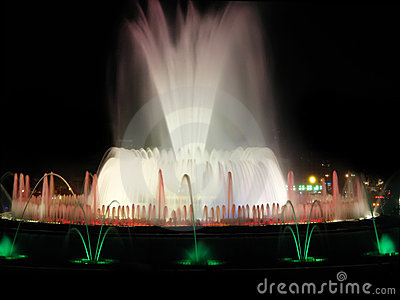 Spectacular fountain