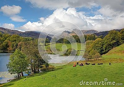 Spectacular Lake District landscape