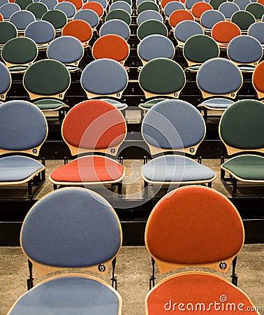 Spectators seats