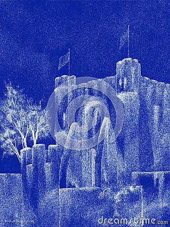 Spectral Medieval Castle