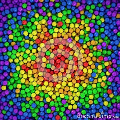 Spectrum balls