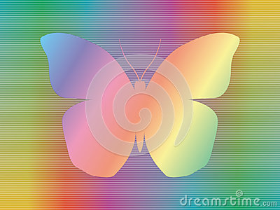 Spectrum butterfly