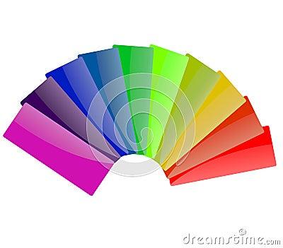 Spectrum Color of Rainbow
