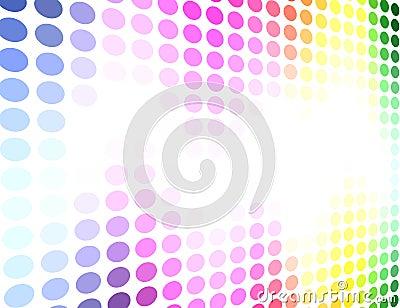 Spectrum colored background