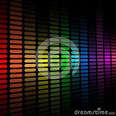 Spectrum equalizer background