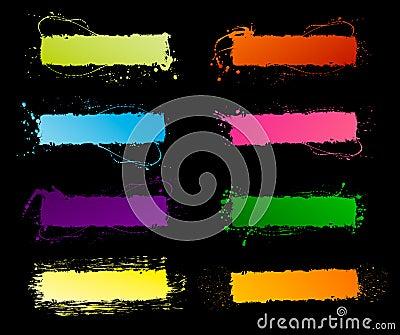 Spectrum grunge frames