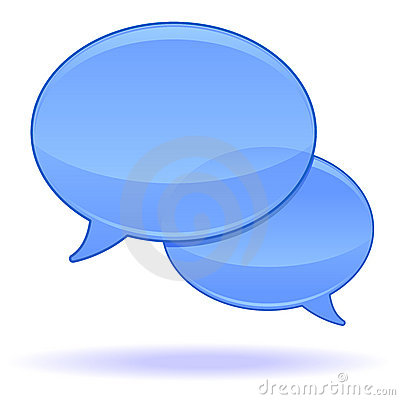 Free Speech Bubble Icon Royalty Free Stock Image - 15137416